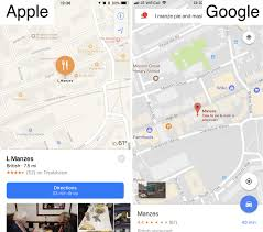 Driving Distance Google Maps Apple Maps Vs Google Maps Comparison Review Macworld Uk
