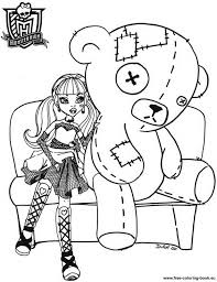 free baby monster coloring pages kids coloring