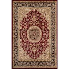 world rug gallery traditional oriental medallion design burgundy 7