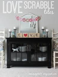 love scrabble tiles house by hoff