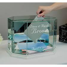 box personalized buy glass wedding card box personalized octagon money box online