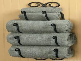 country wall decor bath towel holder bathroom bath towel storage