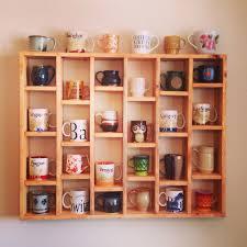 pin by nil tas on mug ideas display shelves