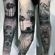 100 palm tree tattoos for tropical design ideas