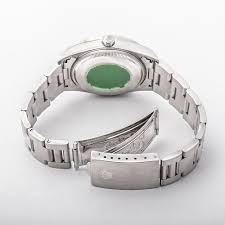 air bracelet rolex air king on stainless steel oyster bracelet with black baton