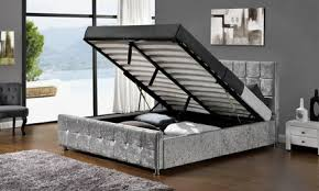 galactic curved bed frame from u20ac197 99 with memory foam mattress