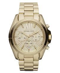 gold tone stainless steel bracelet images Michael kors women 39 s chronograph bradshaw gold tone stainless tif