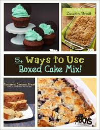 how do you make a cake 5 ways to make box cake mix better 3 boys and a dog
