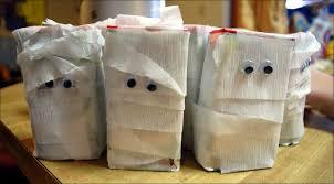 Mummy Crafts For Kids - mummies 13 days of halloween ideas the home teacher