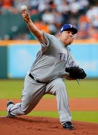bid napper bartolo colon loses no hit bid for rangers in 8th vs astros