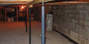 adjustable split jack posts a best home inspection home