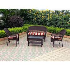 Wicker Patio Table Set 4 Pc Set Walmart