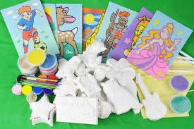 plaster painting plaster activity packs and bulk plaster packs