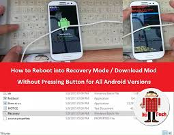 android boot into recovery how to reboot into recovery mode mod without pressing