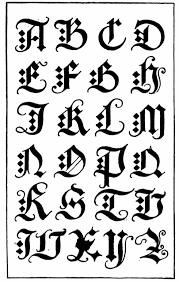 tattoos fonts