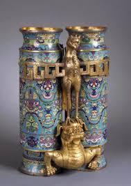 Antique Cloisonne Vases Chinese Cloisonné Springfield Museums