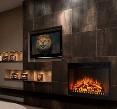 awesome ventless fireplace insert electricity med art home