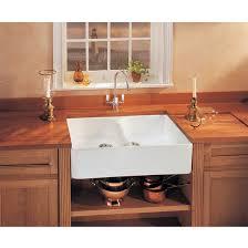 Kitchen Sinks Fireclay Apron Front Undermount Or DropOn - Fireclay apron front kitchen sink