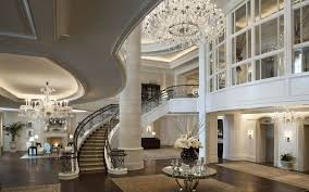 exquisite home decor magnificne luxury interior design with high ceiling also classic