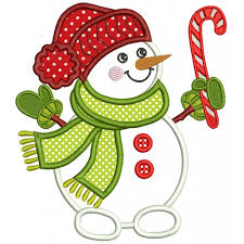 christmas applique holding candy christmas applique machine embroidery design