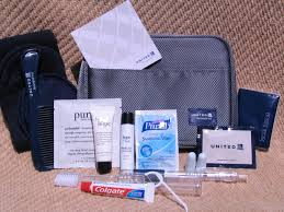united airline carry on amenity kit review united airlines businessfirst may 2012