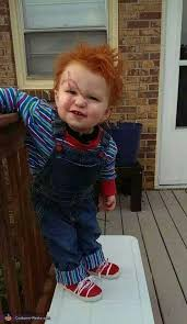 chucky costume toddler chucky crafts make up costumes etc