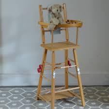 chaise haute poup e chaise haute rétro pour poupée lignedebrocante brocante en ligne
