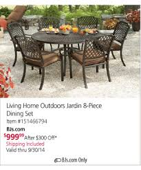 Bjs Patio Furniture by Bjs Wholesale Club Act Fast Patio Furniture Savings Milled