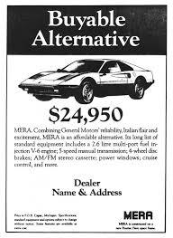 car service ad sales ads pontiac mera history