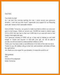 thank you letter for donation thankyou water donation a thank you