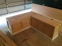 Corner Seating Bench Kitchen Nook Seating Benches With Storage Bench Plans With Kitchen