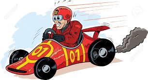 cartoon race car pictures group 51