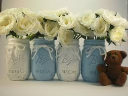 Boy Baby Shower Centerpieces Ideas by Baby Shower Centerpiece Mason Jar Centerpiece By Lilpumpkincrafts