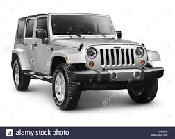 jeep rubicon white silver 2011 jeep wrangler unlimited sahara 4x4 suv isolated on