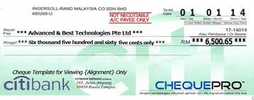 cheque printing writing software for malaysia bank template