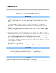 Best Professional Resume Template Resume Examples For Cost Accountant Templates