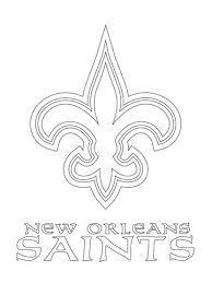 New Orleans Saints Logo Coloring Page Free Printable Coloring Pages Saints Colouring Pages