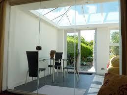 cool glass room divider doors maximum light flow with frameless