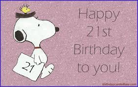 21st birthday cards