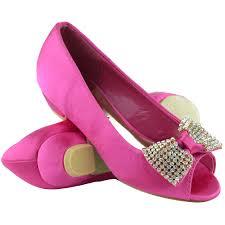 kids low heel peep toe rhinestones ribbon slip on dress shoes