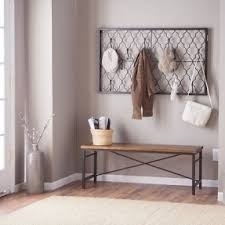 metal wall mounted coat rack foter foyer pinterest wall