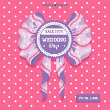 wedding sale wedding sale ribbon card vector free vector in ai