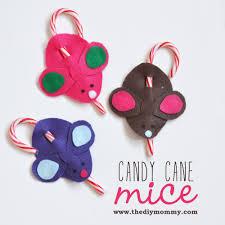 make candy cane mice u2013 a kid u0027s christmas craft the diy mommy