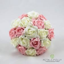 bridesmaid flowers silk bridesmaid flowers by petals polly flowers ltd