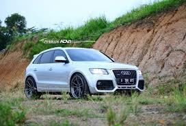 audi q5 rims and tires audi q5 custom wheels adv 1 5 2tssl 22x10 5 et tire size r22