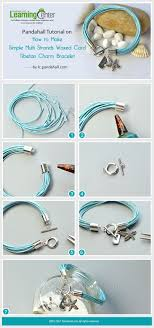 cord bracelet with charm images How to make multi strands waxed cord charm bracelet fix multi jpg