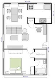 Simple House Plans 600 Square Stunning 600 Square Feet 2 Bedroom Apartment Contemporary Home