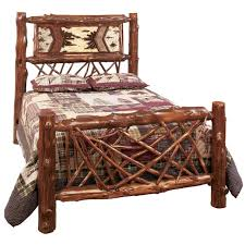 bedroom picture of bear rustic bedroom furniture log beds rustic