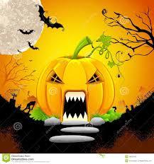 monster house com pumpkin monster house stock vector illustration of fear 26692440