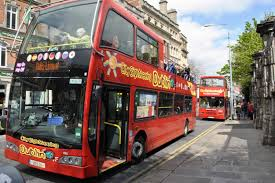 Hop On Hop Off San Francisco Map by 1 Day City Sightseeing Dublin Hop On Off 2 Routes